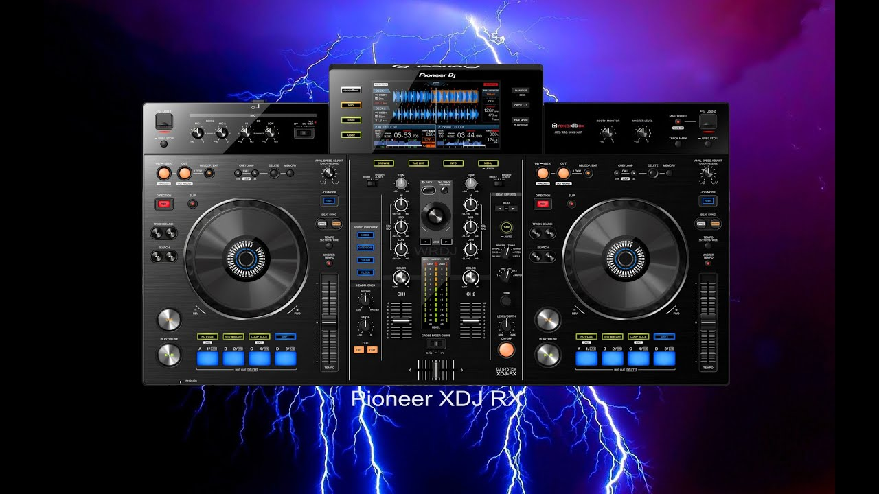 Pioneer Xdj Rx Official Introduction Youtube
