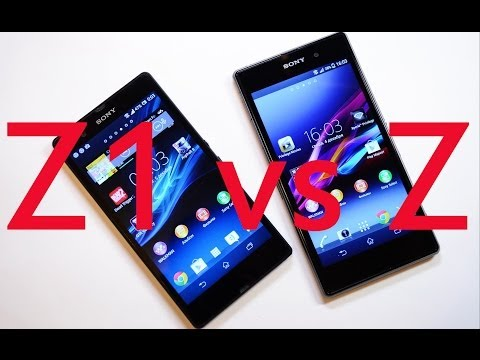 Xperia Z1 Vs Xperia Z: обзор-сравнение флагманов Sony [Mobiltelefon.ru]