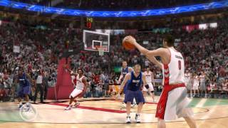 NBA Live 10 PC 2009 Gameplay