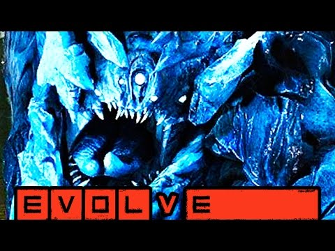 GLACIAL BEHEMOTH!! STAGE TWO LIVES ON!! Evolve Gameplay Walkthrough (PC 1080p 60fps)