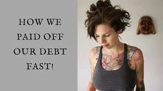How We Paid Off 65K DEBT in 18 Months!