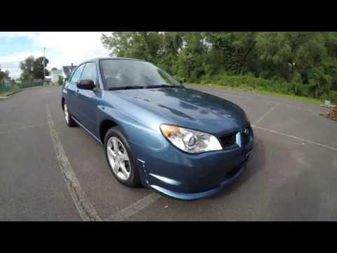 4K Review 2007 Subaru Impreza AWD 5-Speed Manual Virtual Test-Drive & Walk-around