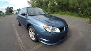 4K Review 2007 Subaru Impreza 5-Speed Manual Virtual Test-Drive & Walk-around