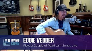 """Eddie Vedder Plays """"Elderly Woman Behind the Counter in a Small Town"""" and """"Sometimes"""""""