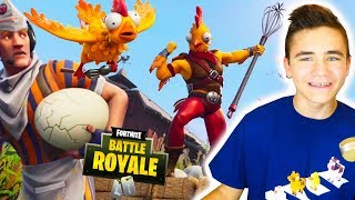 BEST SKIN FORTNITE? GREAT CHICKEN! 🐔- Tender Defender Chicken Trooper - Neo The One