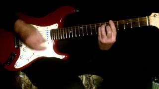 Aao Huzoor Tumko Sitaaron Mein Guitar Instrumental.
