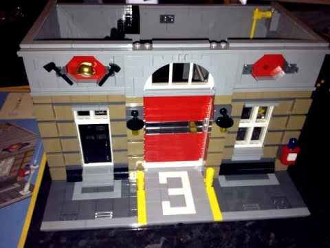 Lego Firehouse How It Was Made Youtube