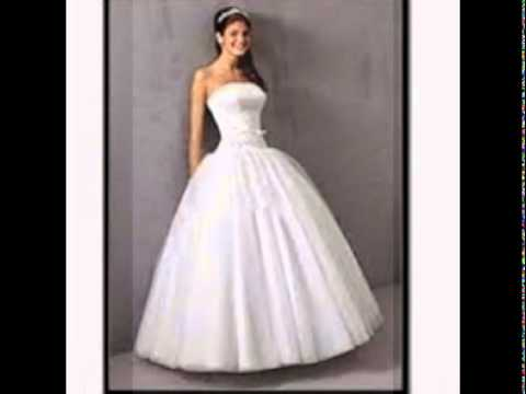 White Maxi Dress Wedding - YouTube
