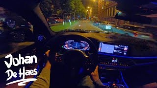 BMW X7 xDrive40i 340 hp NIGHT POV Test Drive