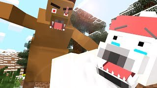 Polar Bear Life - Craftronix Minecraft Animation