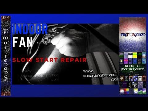 Fan Slow Start Indoor Blower HVAC Air Conditioner Heater Quick Fix Maintenance Repair Video