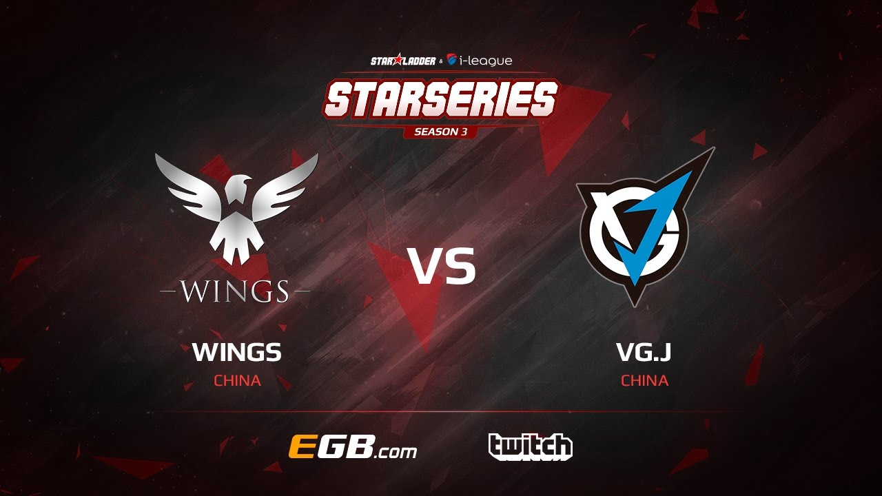 Wings vs VG.J, Game 1, SL i-League StarSeries Season 3, LAN-Final