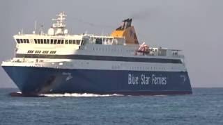 Blue Star Paros - Arrival in Kos, Greece