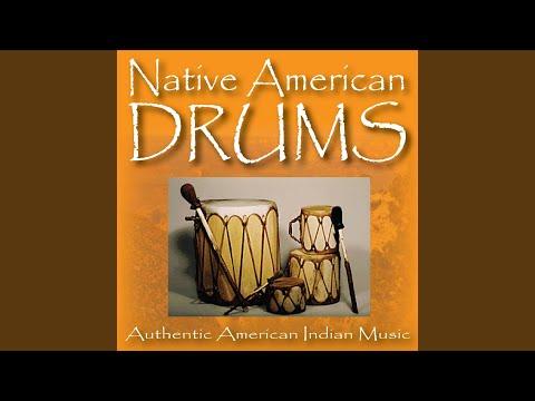 Native American Rain Dance Drums
