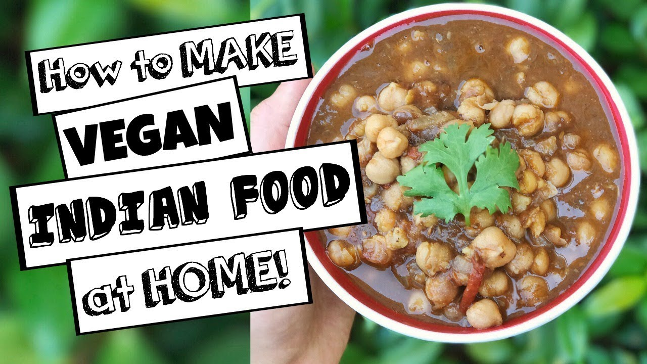 How to make awesome vegan indian food chana masala recipe youtube how to make awesome vegan indian food chana masala recipe forumfinder Gallery
