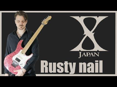 X Japan - Rusty Nail (Guitar cover HD)
