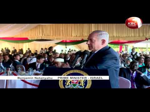 Benjamin Netanyahu has reiterated his government's commitment to partner with Kenya