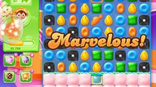 Candy Crush Jelly Saga Level 813 - NO BOOSTERS (CLOSER TO PAY2WIN-VERSION)