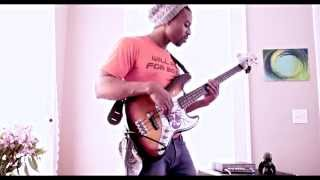 spacewolf jt3 x Estelle [American Boy feat. Kanye West] bass cover