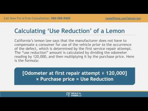 Lemon Law California >> California Lemon Law Attorney Youtube