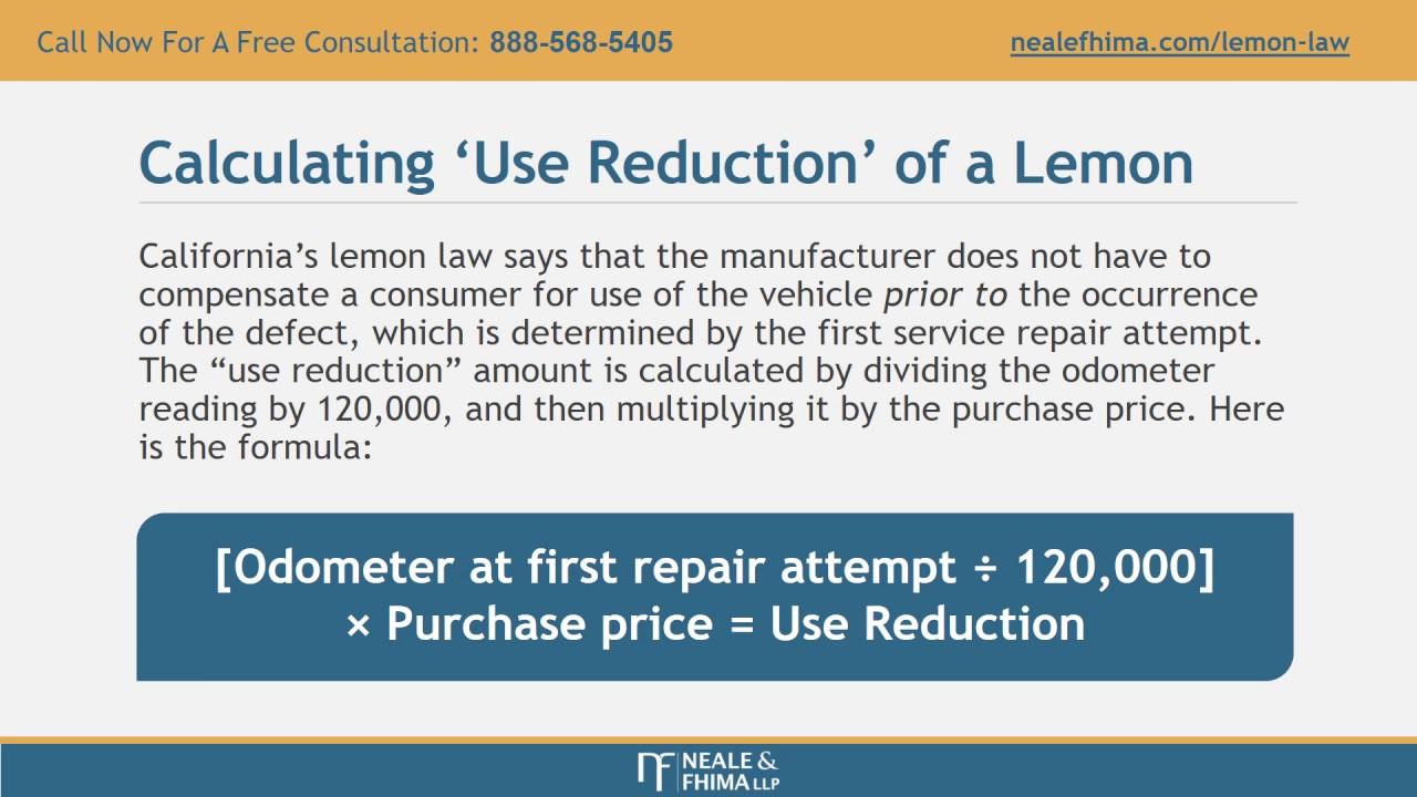 Lemon Law California >> California Lemon Law Attorney Youtube