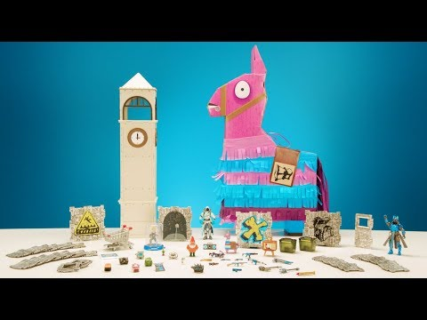 Fortnite Jumbo Llama Loot Piñata Tips & Tricks | Jazwares