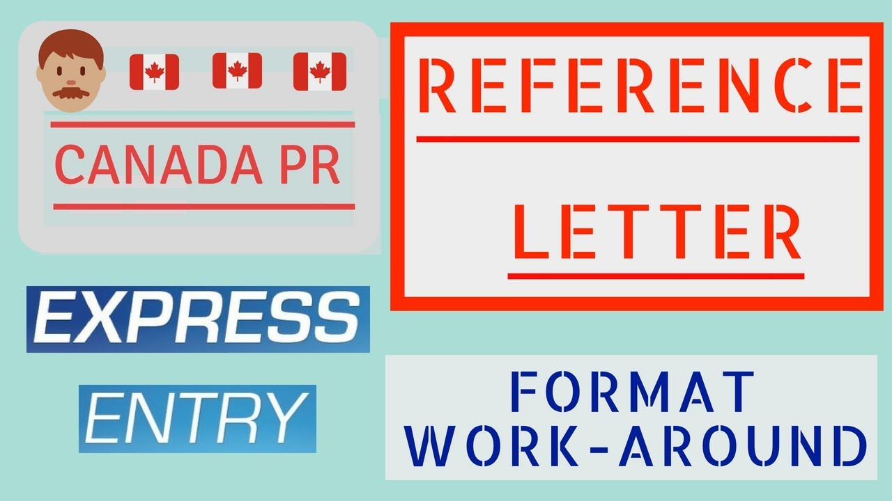 Sample Pr Letter Format | Reference Letter For Job Experiences Canada Expess Entry 2018