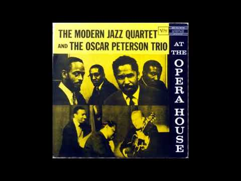 The Modern Jazz Quartet & Oscar Peterson Trio  - At the Oper