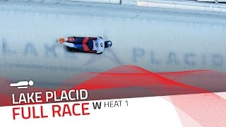 Lake Placid | BMW IBSF World Cup 2016/2017 - Women's Skeleton Heat 1 | IBSF Official
