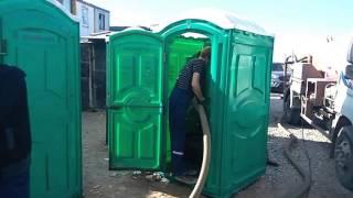 Откачка туалетной кабины(, 2016-10-07T12:09:50.000Z)