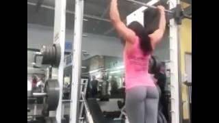 sexy girl push ups  nice