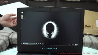 Đập Hộp Laptop Gaming Dell Alienware 15R4 2018 Mới Nhất Của Dell