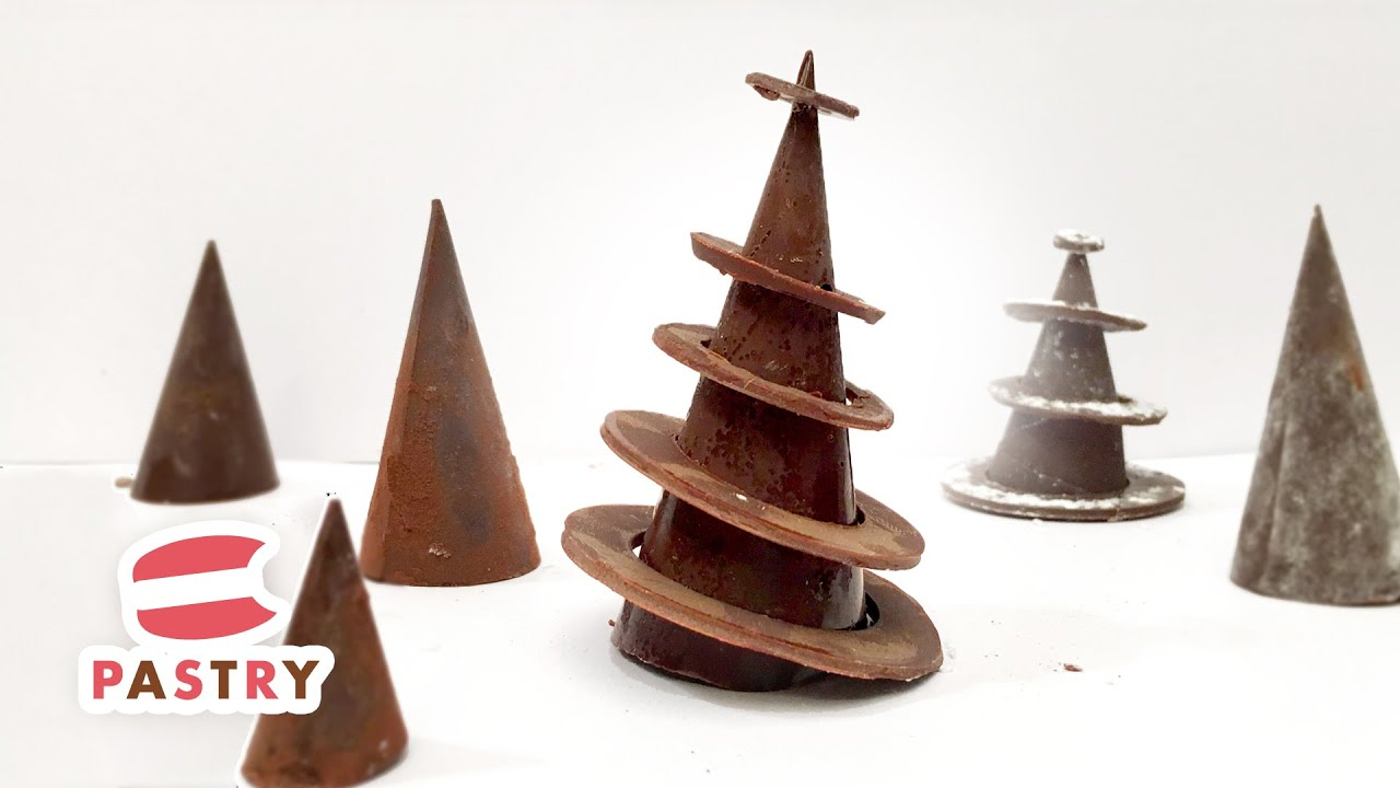 christmas dessert decoration chocolate rings christmas tree chocolate decorations ideas 05 youtube - Christmas Dessert Decorations