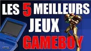 LES 5 MEILLEURS JEUX GAMEBOY ADVANCE