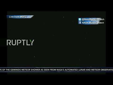 LIVE: Dazzling Geminids meteor shower lights up the sky