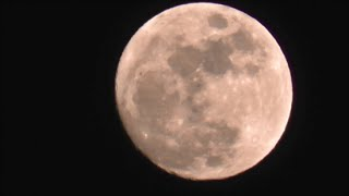 Луна и планета Юпитер над Ингушетией 02 02 2015г