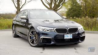 2018 BMW M550i Review:  Dr. Jekyll and Mr. Hyde, in a Good Way
