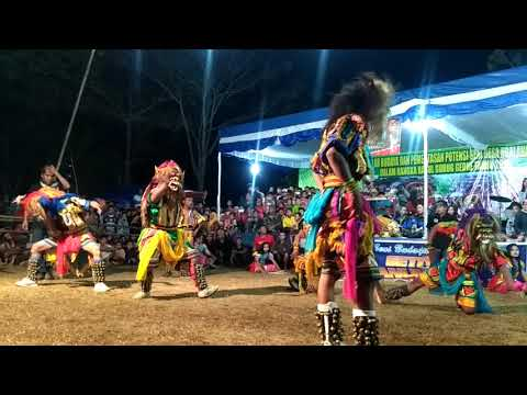 Jatilan Setya Manunggal Dusun Nglaran, Ngalang, Gedangsari.  #rasul Gubuk Gedhe 2018