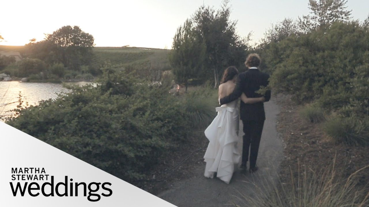 Real Weddings Youtube: Corinne And Patrick's Vineyard Real Wedding- Martha