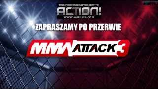 Robert Burneika vs Dawid Ozdoba HARDKOROWY KOKSU Gala MMA ATTACK 3 27 04 2013 2017 Video