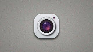 Illustrator Tutorial | New 3D Camera App Icon ( Android/IOS )