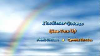 Watch Frank Stallone Im Never Gonna Give You Up video
