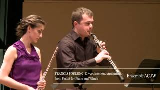 Ensemble ACJW: Poulenc Sextet for Piano and Winds