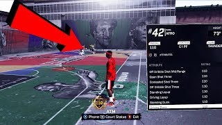 110 OVERALL DEMIGOD GLITCH PARK GAMEPLAY - NEVER MISSES A GREENLIGHT INSANE TAKEOVER - NBA 2K18