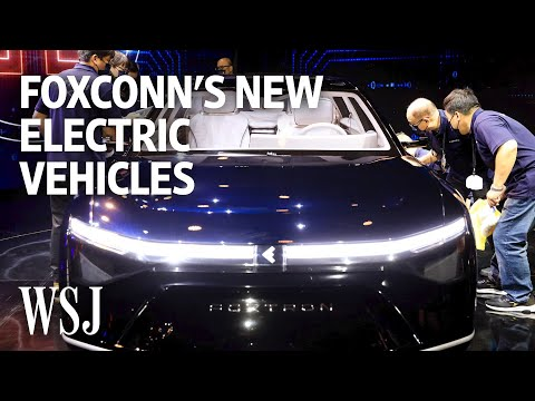 iPhone Manufacturer Foxconn Reveals Its First EV Prototypes   WSJ