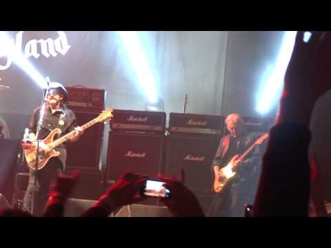 Motorhead Ace Of Spades Birmingham 2014. FEATURING FAST EDDIE CLARKE AND PHILTHY ANIMAL TAYLOR