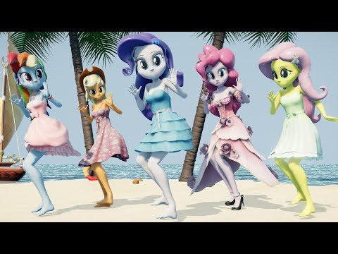 Equestria Girls Dancing Music Video - Fly Away (to a Desert Island)