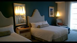 Tour of Deluxe Room at Portofino Bay Hotel, Orlando