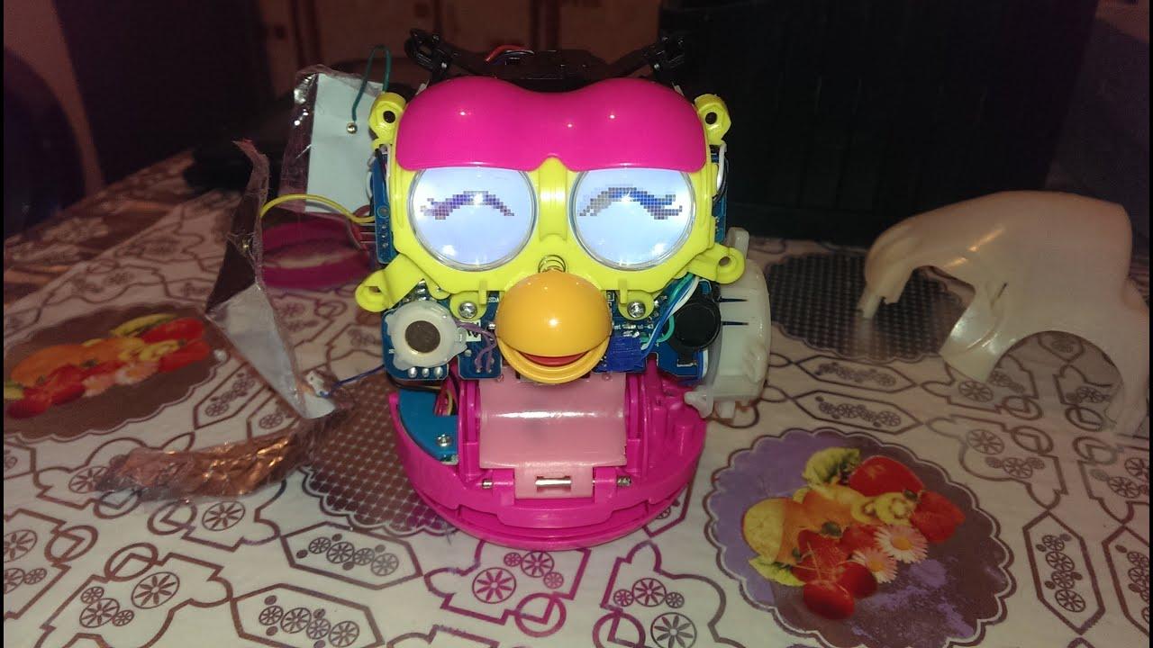 Интерактивная игрушка Ферби Furby от Hasbro - YouTube