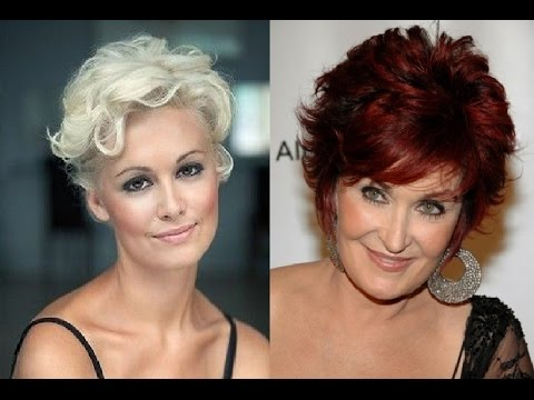 Short Curly Hairstyles for Women Over 50 - YouTube